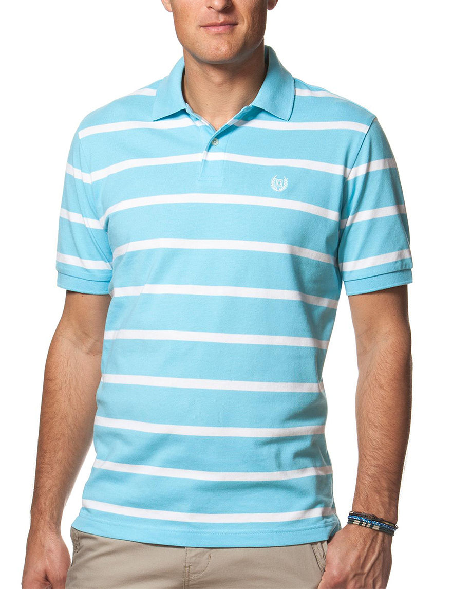 Chaps Turquoise Polos