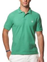 Chaps Green Pique Polo Shirt