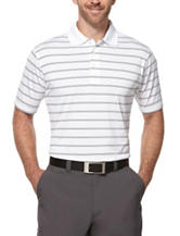 PGA Tour® Airflux Striped Print Polo Shirt