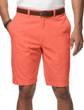 Chaps Red Poplin Bermuda Shorts
