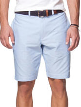 Chaps Light Blue Oxford Shorts