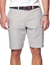 Chaps Grey Poplin Bermuda Shorts
