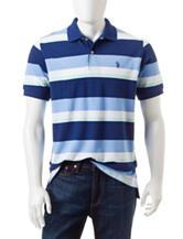 U.S. Polo Assn. Multicolor Striped Print Polo Shirt