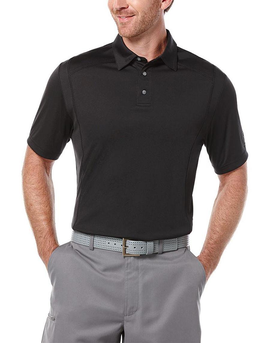 PGA TOUR Black Polos