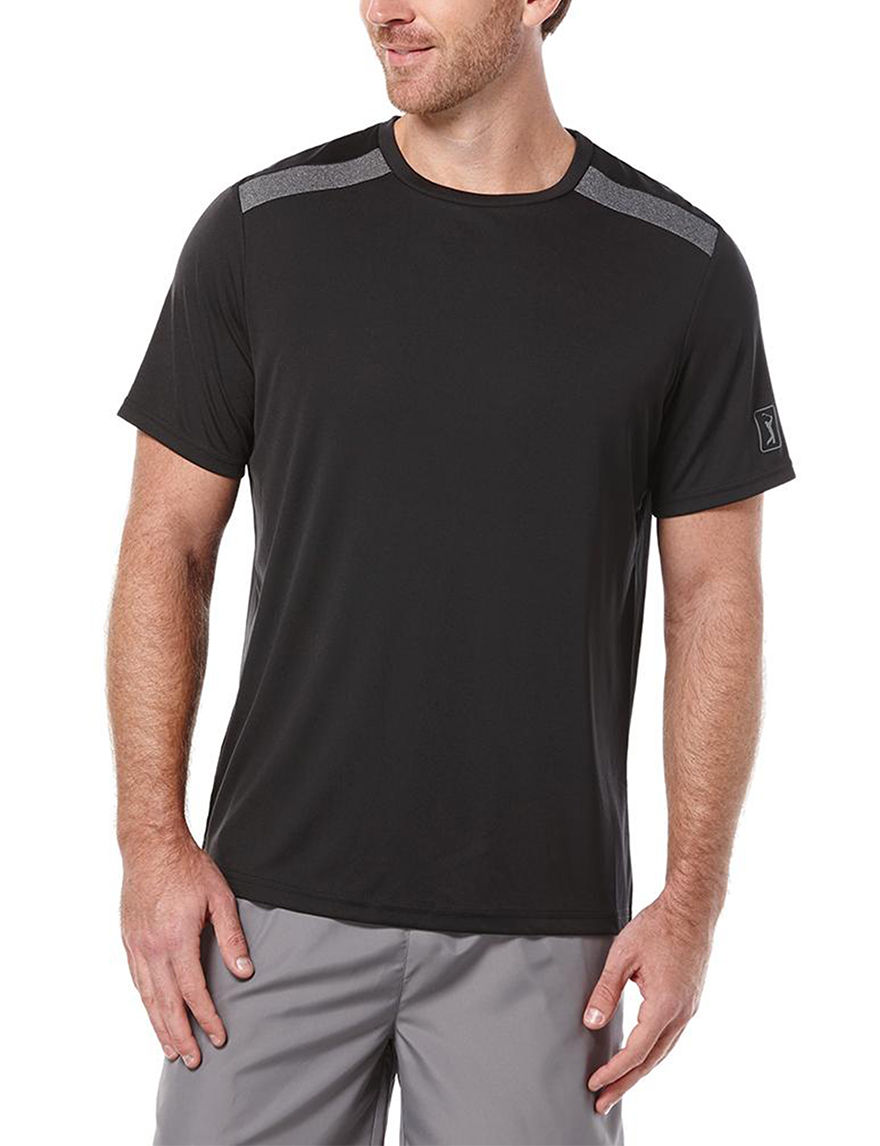 PGA TOUR Black Tees & Tanks