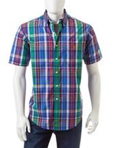 U.S. Polo Assn. Multicolor Plaid Print Woven Shirt
