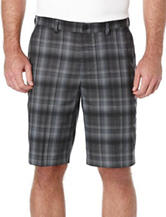 PGA Tour® Flat Front Plaid Shorts