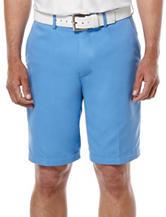 Jack Nicklaus Aqua Flat Front Shorts