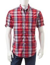 U.S. Polo Assn. Multicolor Plaid Print Woven Shirt