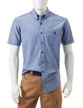 U.S. Polo Assn. Chambray Woven Shirt