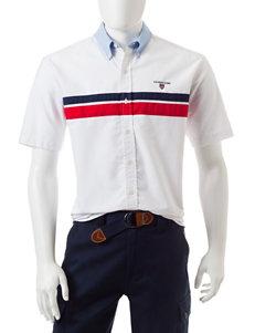 U.S. Polo Assn. White Casual Button Down Shirts