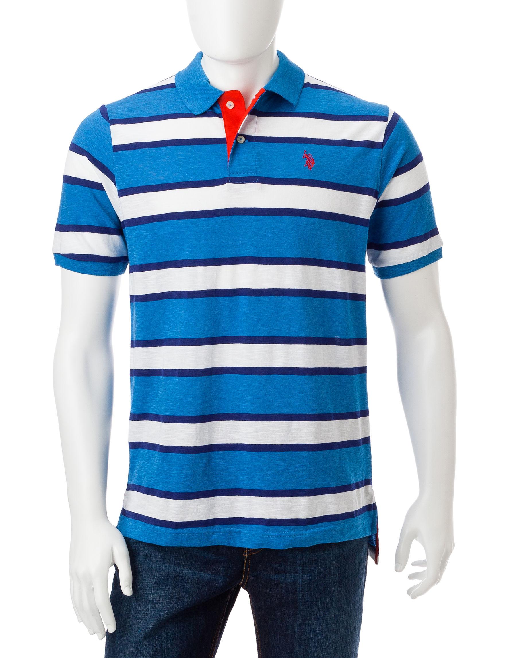 U.S. Polo Assn. Dark Blue Polos
