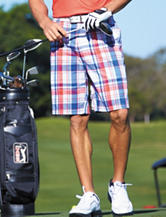 PGA Tour® Flat Front Americana Shorts