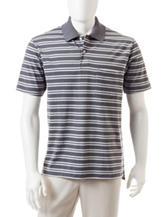 Sun River Double Striped Polo Shirt