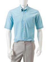 Sun River Mini Plaid Print Woven Shirt