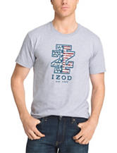 Izod American Flag T-shirt