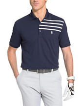 Izod Placement Print Polo Shirt