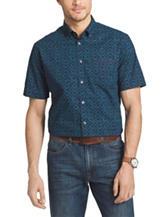 Van Heusen Indigo Print Woven Shirt
