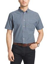 Van Heusen Plaid & Mini Dot Print Woven Shirt