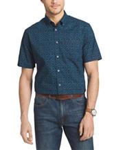 Van Heusen Big & Tall Indigo Print Woven Shirt