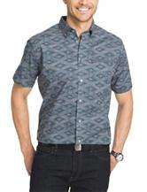 Van Heusen Big & Tall Lattice Print Woven Shirt
