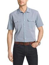 Van Heusen Big & Tall Dot Print Woven Shirt