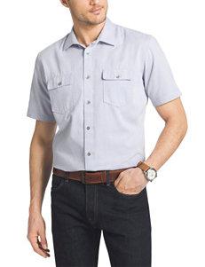 Van Heusen Big & Tall Twill Woven Shirt