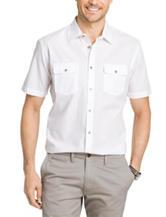 Van Heusen Big & Tall Double Pocket Woven Shirt
