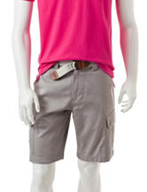 U.S. Polo Assn. Belted Twill Cargo Shorts