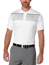 PGA Tour® Banded Chest Striped Polo Shirt