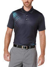 PGA Tour® Vanishing Argyle Print Polo Shirt
