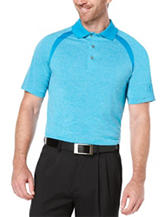 PGA Tour® Ventilated Color Block Heather Polo Shirt