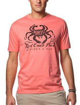 Chaps Martys Red Crab Bar T-shirt