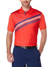 PGA Tour® Printed Flag Polo Shirt