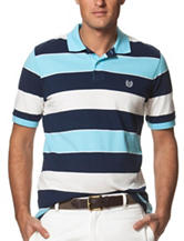Chaps Rugby Multicolor Striped Print Polo Shirt