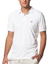 Chaps White Performance Polo Shirt