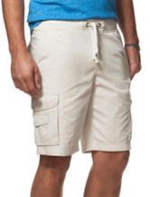 Chaps Beige Classic Cargo Shorts