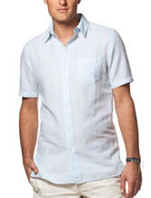 Chaps Solid Linen Shirt