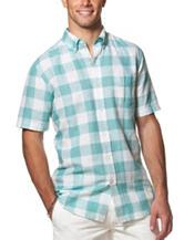 Chaps Buffalo Check Print Woven Shirt