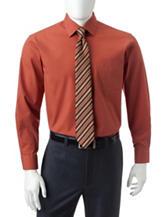 Ivy Crew 2-pc. Burnt Orange Dress Shirt