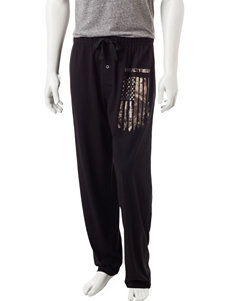 Realtree Flag Print Pajama Pants