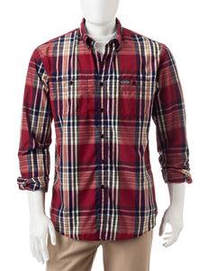 U.S. Polo Assn. Red Casual Button Down Shirts
