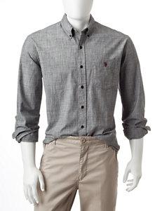 U.S. Polo Assn. Houndstooth Print Shirt