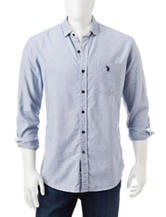 U.S. Polo Assn. Square Woven Oxford Shirt