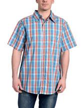 Stanley Multicolor Plaid Sport Shirt