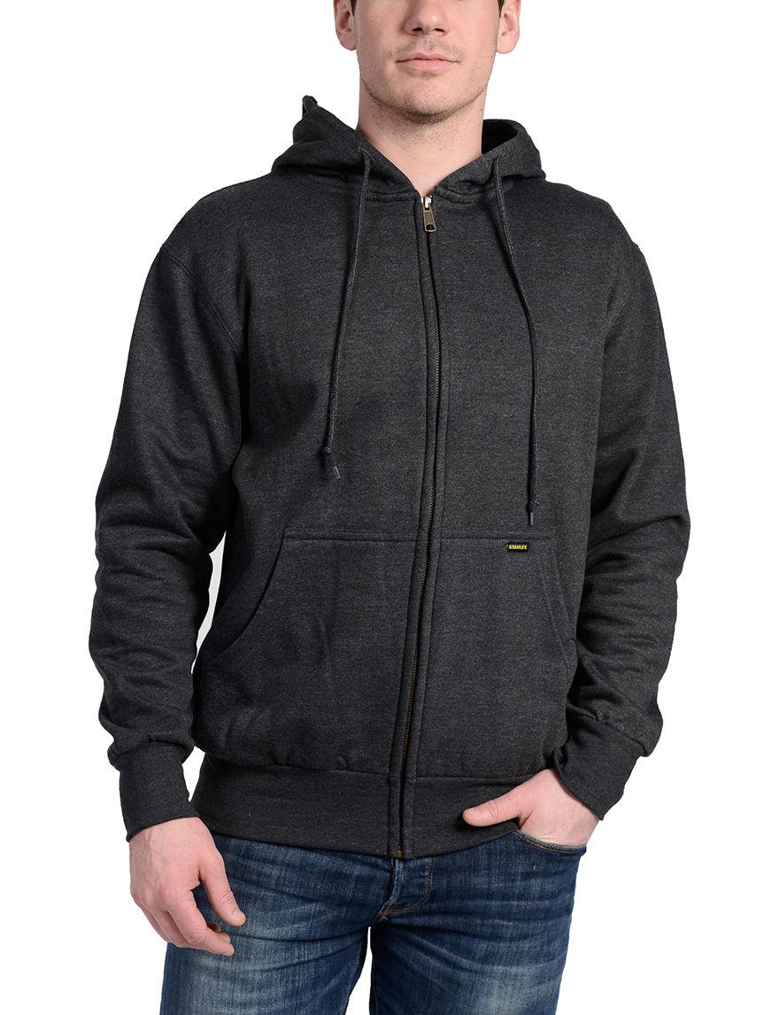 Stanley Charcoal Lightweight Jackets & Blazers