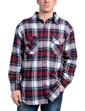 Stanley Multicolor Plaid Print Flannel Shirt