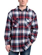 Stanley Multicolor Plaid Print Flannel Shirt