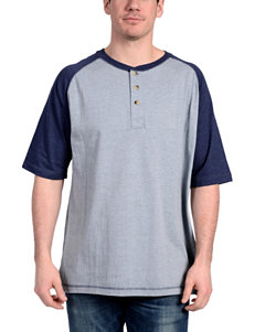 Stanley Medium Blue Henleys