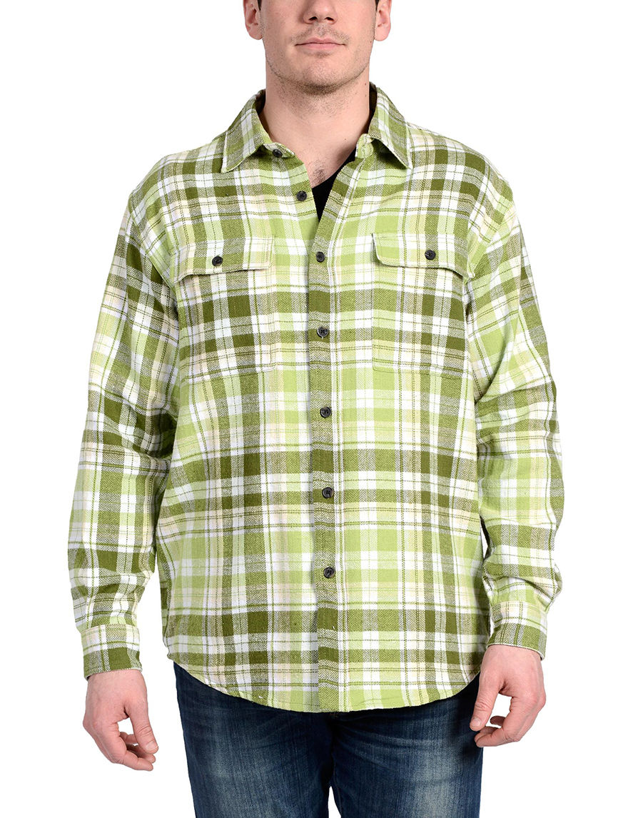 Stanley Brown Casual Button Down Shirts